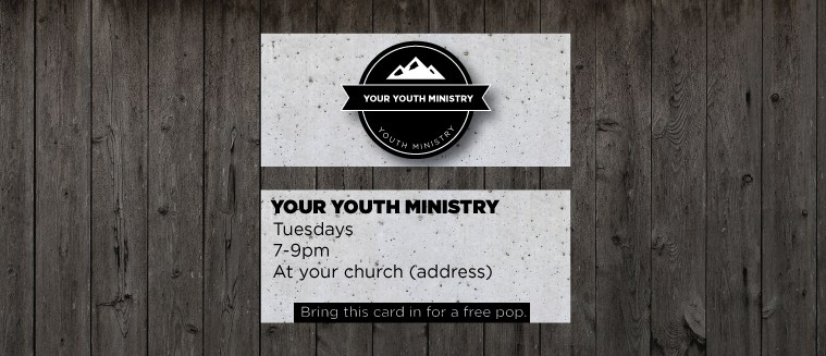 Freebie mini invite cards youth ministry media freebie mini invite cards colourmoves