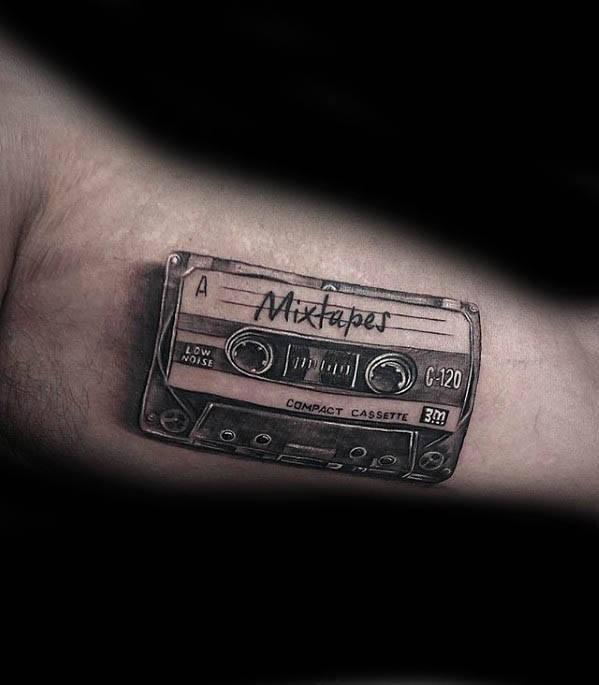 Mixtapes Tattoo - YouthNowNew