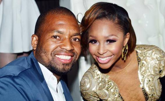 Itumeleng Khune and Minnie Dlamini