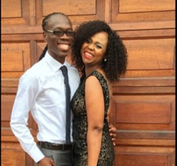 Reneilwe and Mpho Maboi