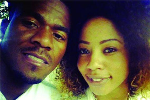 Senzo Meyiwa and Kelly Khumalo