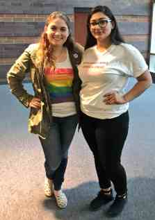 The day of the inauguration my friend and I wore some of our favorite activist gear.