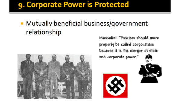 Corporate Power is Protected