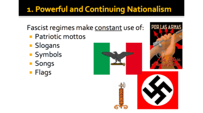 Powerful and Continuing Nationalism