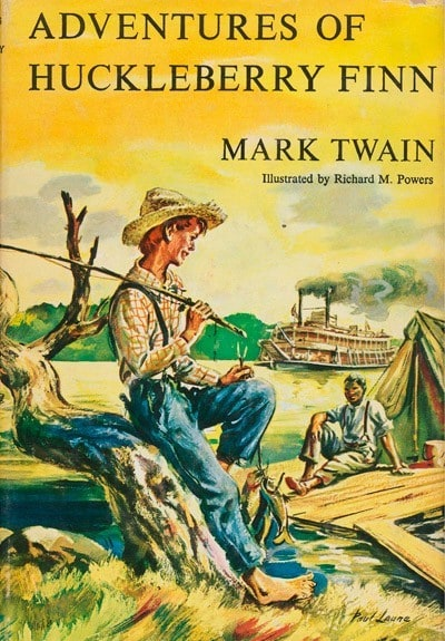 huckleberry finn journal entries