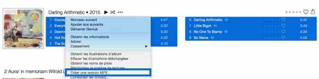 Convertissez facilement un album en mp36