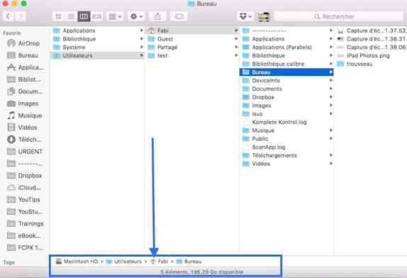 4Afficher l'arborescence de vos dossiers sur Mac