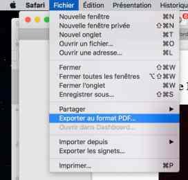 Isoler un article d'une page Internet sur Mac3
