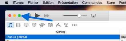 Multi bureau et le mode Plein écran sur Mac6