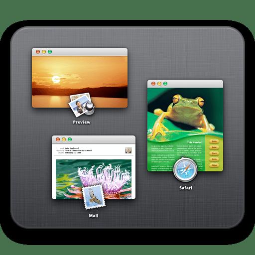 Changer de bureau sur Mac