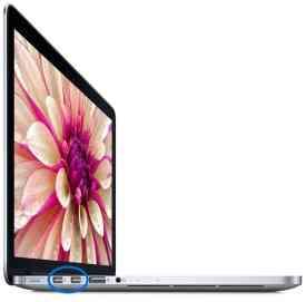 Thunderbolt sur le MacBook Pro rétina