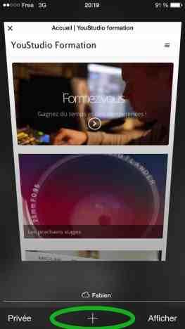 Comment créer une nouvelle page internet sur iPad ou iPhone2015-05-17 à 21.06.35 PM 2