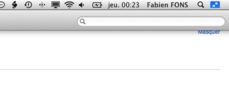 Le mode plein cran sur mac for Plein ecran photo mac