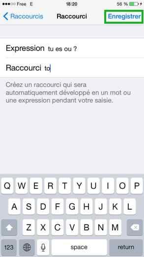 Des raccourcis clavier sur iOS2015-05-31 à 18.32.31 PM