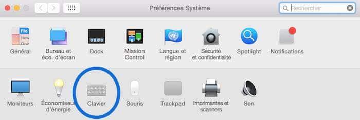 Raccourci pour changer la langue du clavier du Mac1