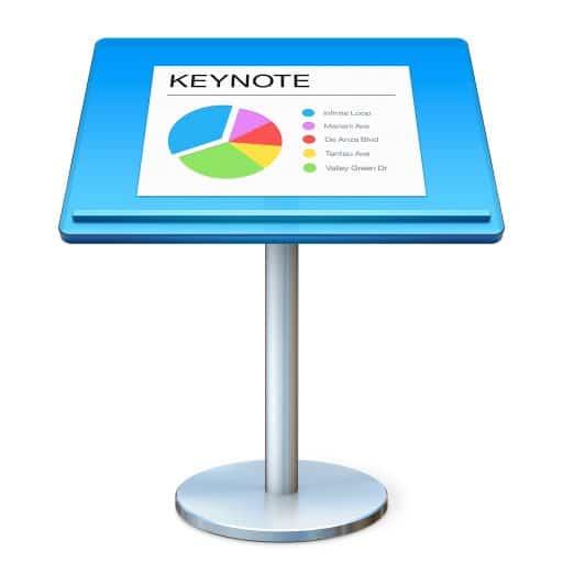 Exportez vos présentations Keynote au format vidéo