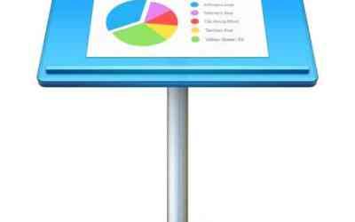 Logiciel indispensable sur Mac, iPhone et iPad: Keynote