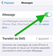Des problèmes avec iMessage3