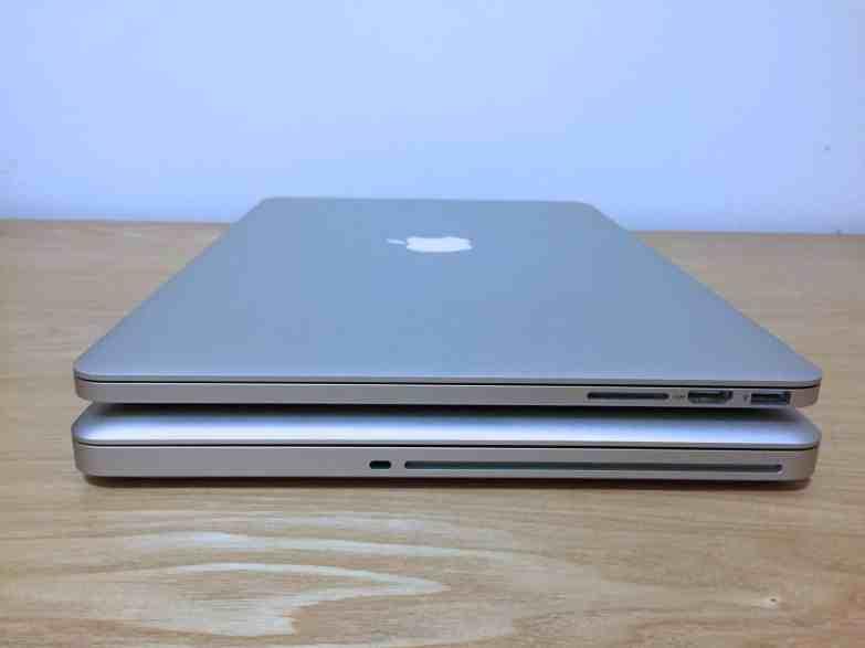 Difference macbook pro macbook pro retina00010