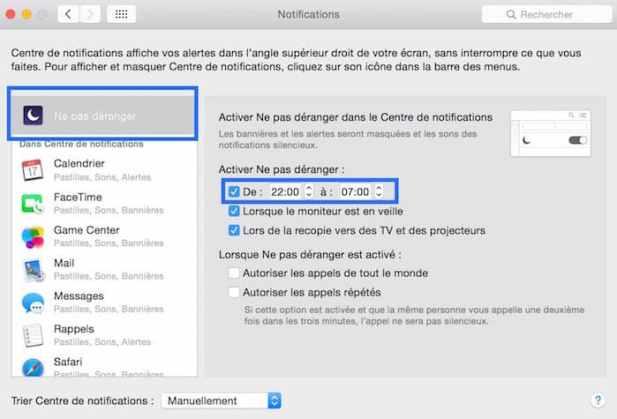 Désactiver un programme au démarrage de votre Mac11