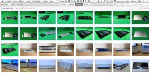 Sélectionner plusieurs fichiers sur Mac4