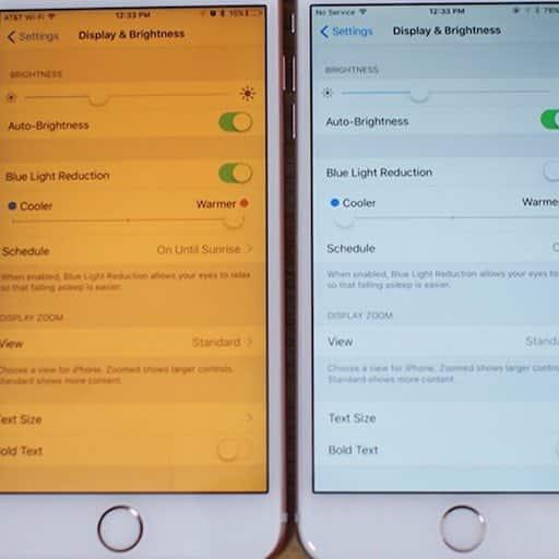 La lumière bleu sur le Mac, l'iPhone ou l'iPad
