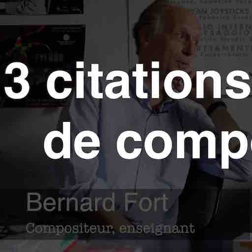 3 citations célèbres de compositeurs