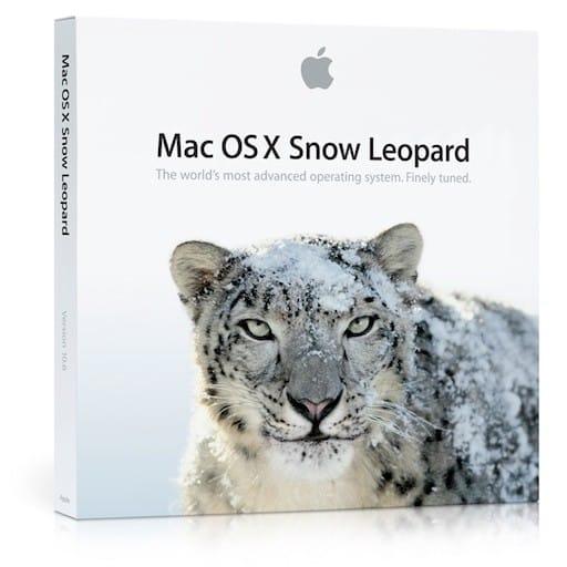 Passez votre vieux Mac au moins sur snow leopard
