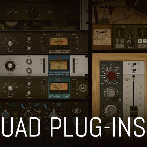 Classer les Plug-ins UAD gratuits dans Logic Pro X