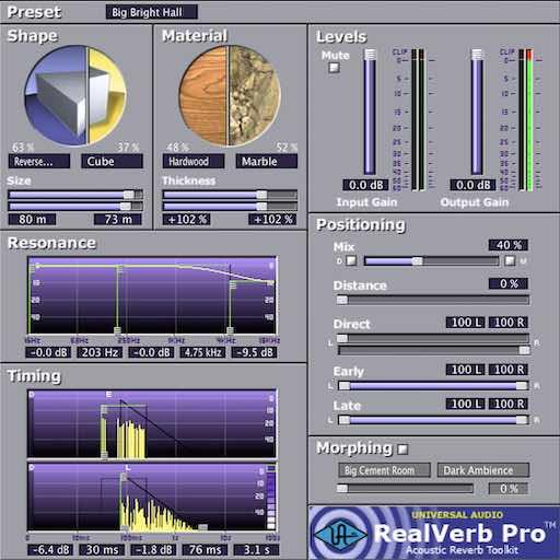Tuto UAD Realverb Pro Plug In