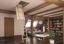 scala per soffitta