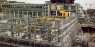 Cantiere a Milano