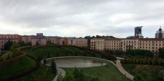 Case e giardino a Milano