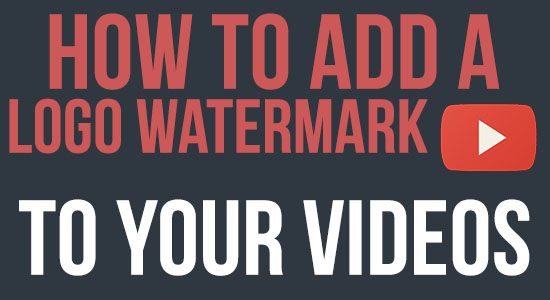 how to add a logo watermark
