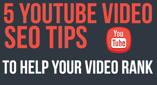 youtube video seo tips