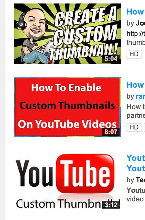 How To Add A Custom Thumbnail To A Youtube Video Youtube Creators