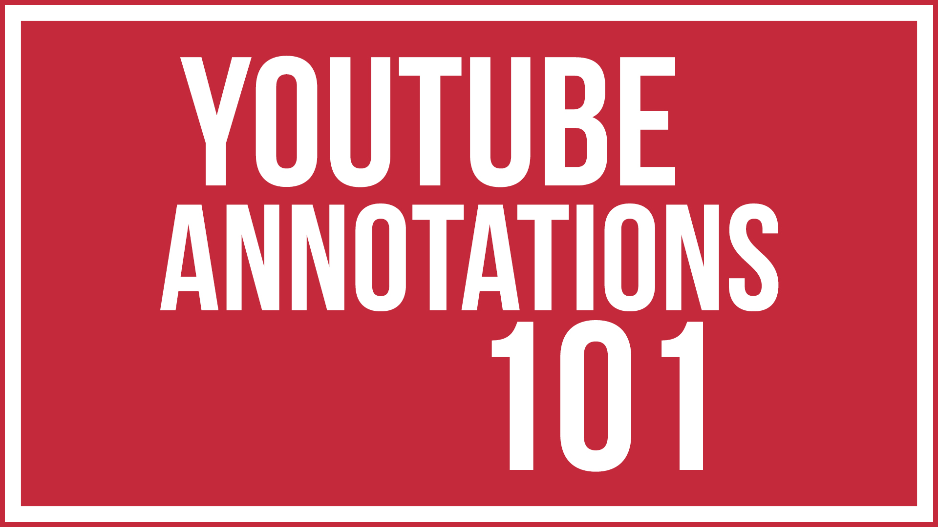 In This Article We Are Going To Discuss Youtube Annotations First, We Need  To Understand What An Annotation Is If You Are Watching A Video And You  See A