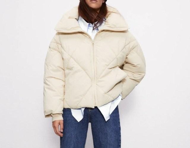 Zara νέα συλλογή μπουφάν