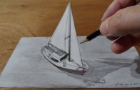 3 Boyutlu Kalemle Yelken Yapımı
