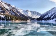 Isıtılmış 20 Kilogramlık Demir Buz Tutan Göle Atılırsa…