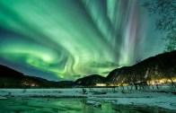 Kuzey Işıklarının Büyüleyici Görüntüsü