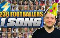 238 Futbolcu Tek Şarkı