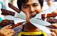 Tayland Vejetaryen Festivalinin Piercingli Çılgınları!