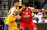 Euroleague'de Çılgın Maç: Maccabi FOX Tel Aviv: 68 – 69: Olympiacos Piraeus