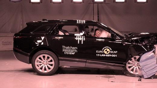 Range Rover Velar süper Çarpışma Testi