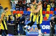 EuroLeague 8. Maçlarda Fenerbahçe Doğuş Son Saniye Basketiyle CSKA Moskova'yı Devirdi