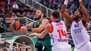 EuroLeague 16. Maçlar'da Panathinaikos, Anadolu Efes'i Yendi