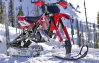 Kar Motosikleti Çılgınlığına Honda Yorumu