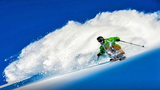 süper kayak gösterisi