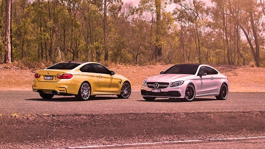 BMW M5 ve Mercedes-AMG E63 S drag yarışı